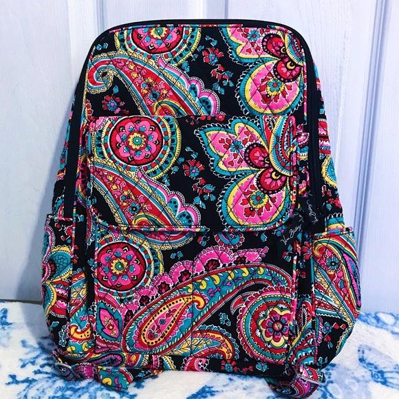 🌸 Vera Bradley Parisian Paisley Backpack